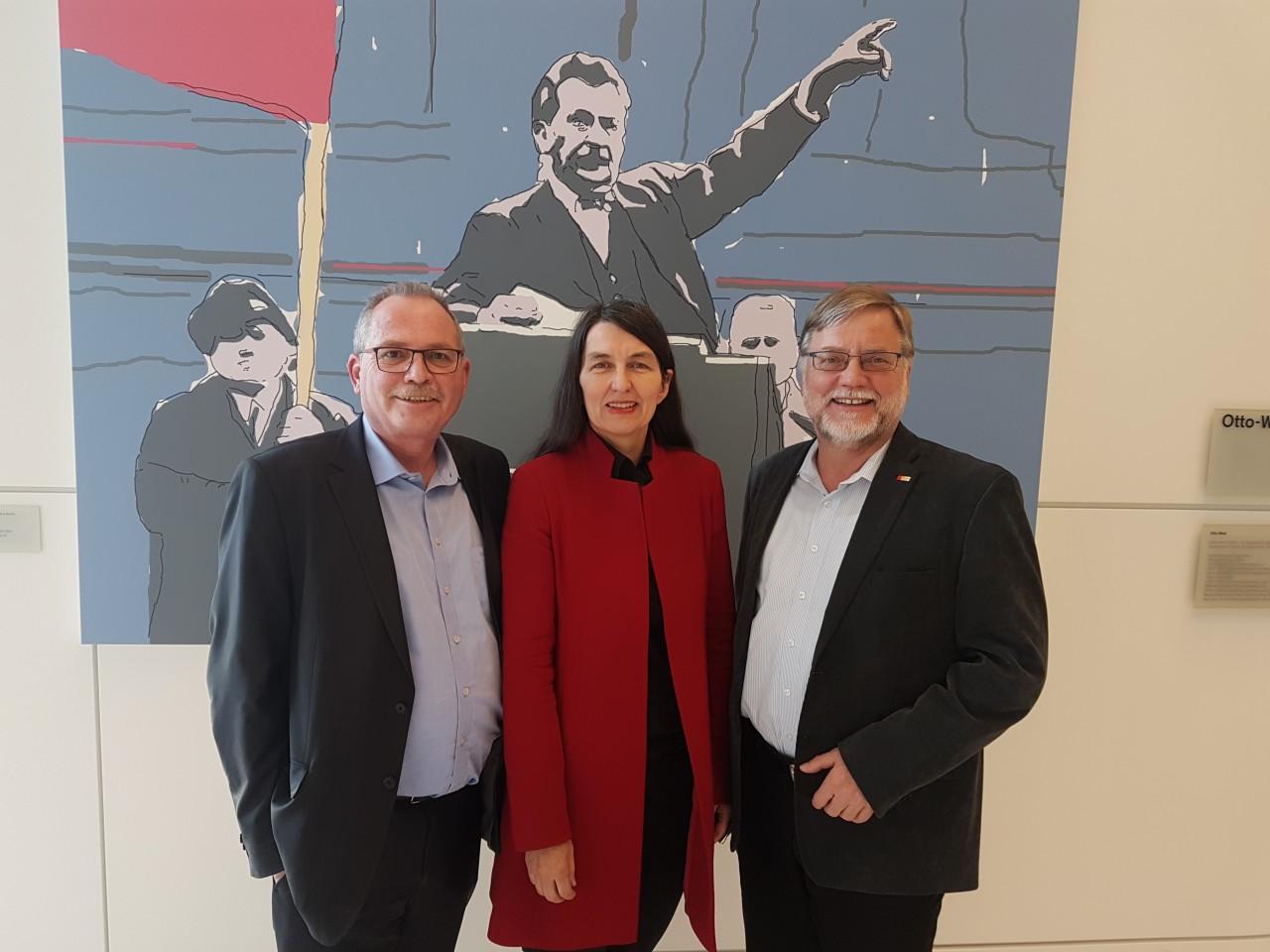 Udo Schiefner, Kirsten Lühmann, Gustav Herzog