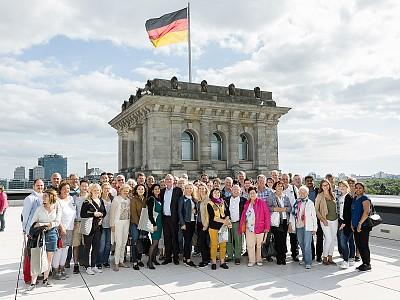 Schiefner entkommt keiner – 4 Tage Besuch in Berlin